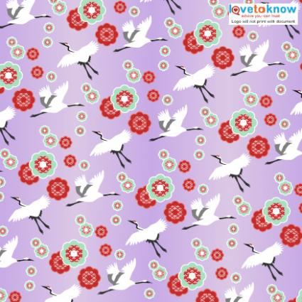 graphic relating to Free Printable Paper Designs titled Printable Origami Paper LoveToKnow