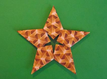 Origami Dominanta Star Folding Instructions | Origami Instruction ... | 315x425