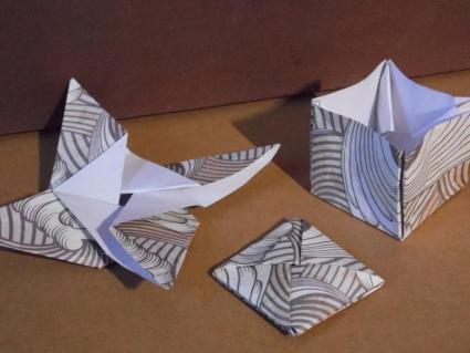 origami magic tricks