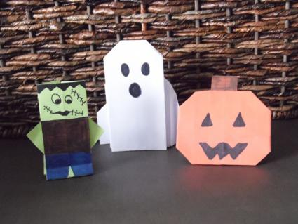 Halloween origami projects