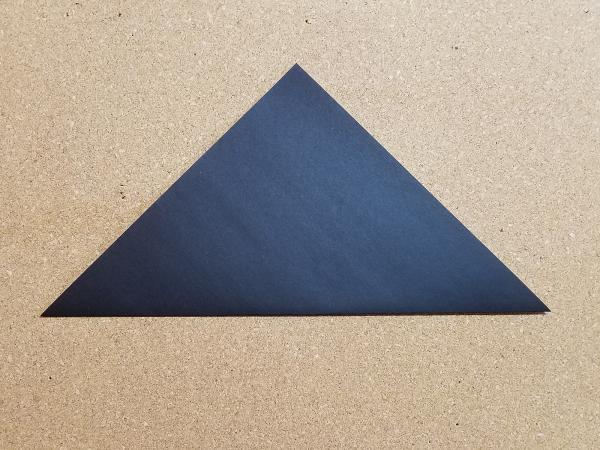 Step 1- fold in half
