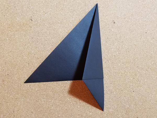 step 4- fold to the left