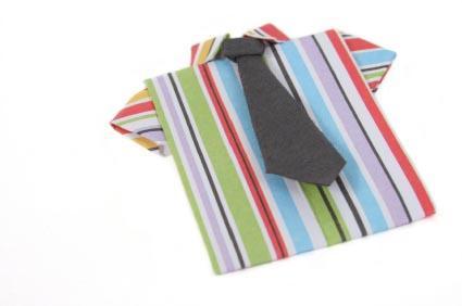 Fabric origami shirt