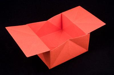 How To Make An Origami Box Origami Box Out Of A4 Paper Easy And ... | 265x400