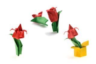 183 & Origami Vase | LoveToKnow