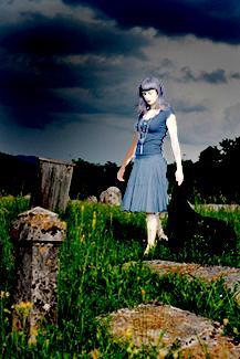 Small Woman in grey