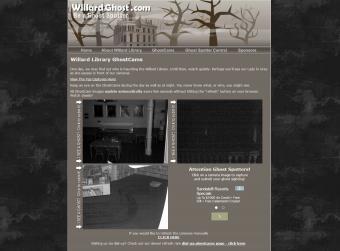 Screenshot of Willard Library Ghost Cam