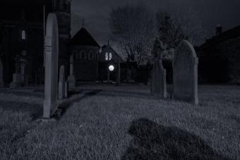 spirit orb at night