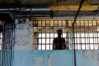 Prison At Alcatraz