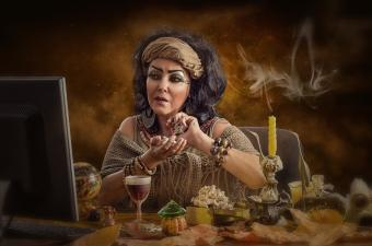 Egyptian soothsayer