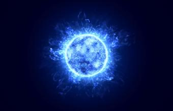 What Seeing a Blue Orb Means