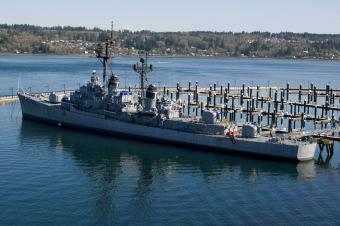 USS Turner Joy, Bremerton, WA