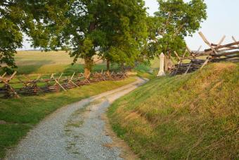 Antietam Bloody Lane, Maryland