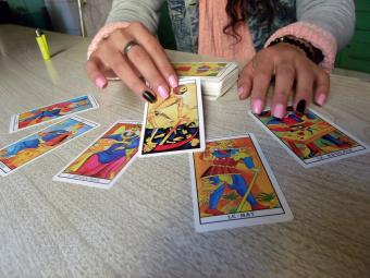 fortuneteller guessing our future