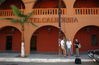Hotel California in Todos Santos, Mexico
