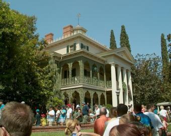 Haunted Mansion at Disneyland, California, 2002