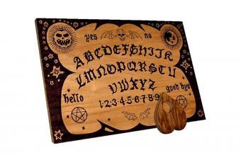 English ouija board