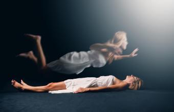 Woman Having A Spiritual Experience