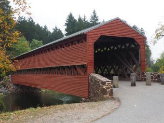Sachs Covered Bridge in Gettysburg PA