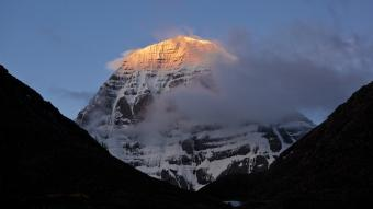 Mount Kailash in the Himalayas