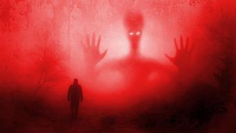 spooky rendering of alien abduction
