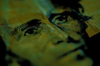 Close up Andrew Jackson