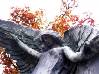 Tales of the Black Angel Statue of Oakland Cemetery