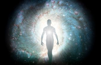 Figure emerges from the cosmos
