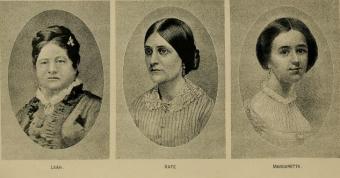 The spiritualist mediums the Fox Sisters
