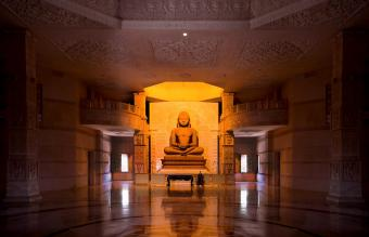 Jain temple from Rajasthan, India