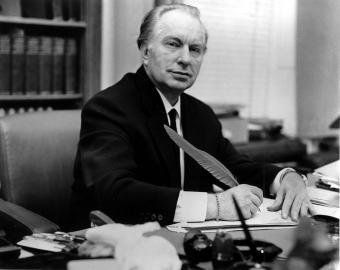Ron Hubbard founder of Scientology