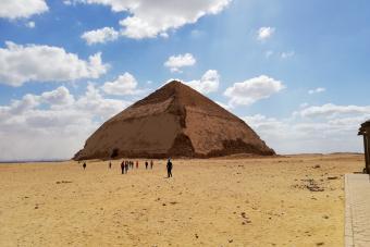 Bent pyramid. Dahshur