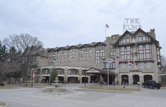 The Elms Hotel in Excelsior Springs, Missouri