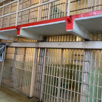 Cells inside Alcatraz prison