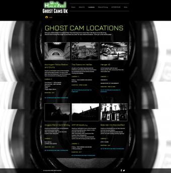 Screenshot of Most Haunted Ghost Webcams