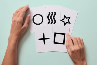 Zener Psychic test cards