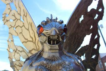 Striking Mothman Information and Mysterious Sightings