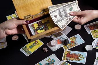 Payment for esoteric, magical and witchcraft services