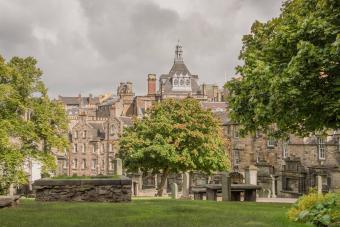 Greyfriars Kirkyard, Edinburgh, Scotland UK