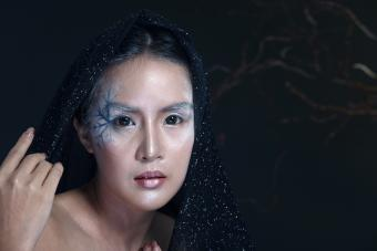 Witchcraft Asian woman