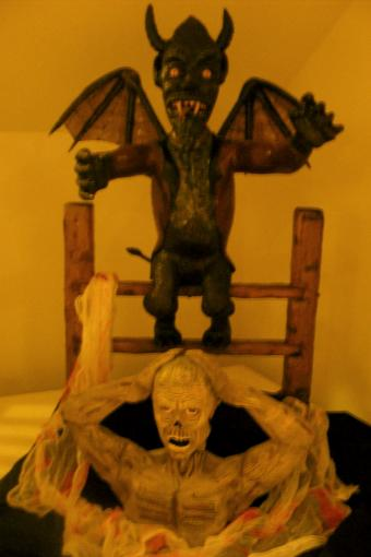 Jersey Devil in the roof