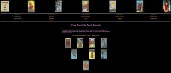 Tarot-card website