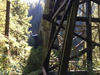 Fairfax Bridge to Melmont trail