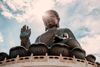 Hong Kong, Lantau, Ngong Ping, Tian Tan Buddha