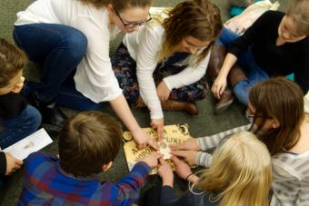 Playing With Ouija Board