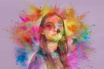 Tertiary colors in auras