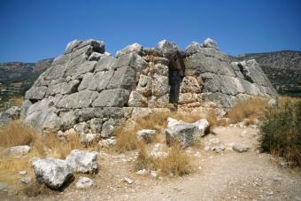Pyramid of Hellinikon, Argolid, Greece