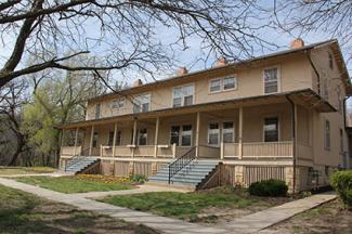 150 Huebner on Fort Riley