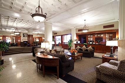 The Eldridge Hotel Lobby