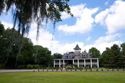 A view of Magnolia Plantation in South Carolina